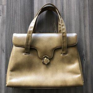 ⭐️ Authentic vintage 1960s leather handbag